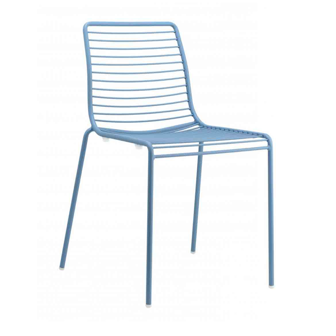 Galvanized, polyester powder-coated steel avaliable in different colors. Seat cushion is avaliable.